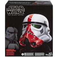 Hasbro Star Wars The Black Series The Mandalorian Incinerator Stormtrooper Electronic Voice-Changer Helmet Prop Replica - Electronic Gifts