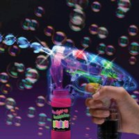Ultraviolet Bubble Gun - Gun Gifts