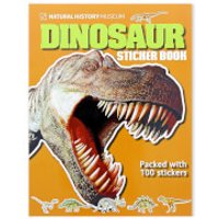 Dinosaur Sticker Book (Paperback)