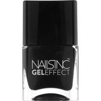 nails inc. Black Taxi Gel Effect Nail Varnish (14ml)