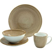 CreaTable Single-Set Porzellan 4 Teile VINTAGE NATURE