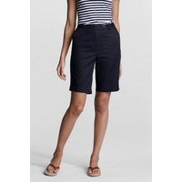 Back-elastic Bermuda Shorts Blue