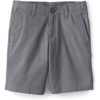 Cadet Chino Shorts, Kids, Size: 4-5 years Little Boy, Grey, Cotton, by Lands'End, Cadet Grey