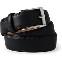 Glove Leather Belt, Men, Size: 30 Regular, Black, by Lands' End