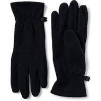 Lightweight Fleece Touchscreen Gloves, Men, Size: L Black, Polyester, by Lands' End