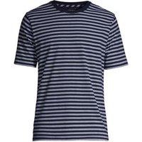 Super-T Striped T-shirt, Men, Size: 50-52 Regular, Blue, Cotton, by Lands' End