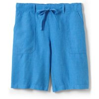 Linen Culottes Blue