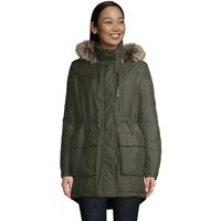 Expedition Down Parka, Women, Size: 20 Regular, Green, by Lands' End