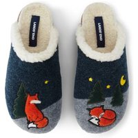 Cute Clog Slippers, Navy