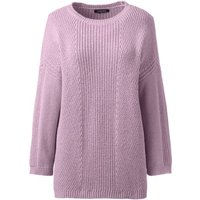 3-quarter Shaker Crew Neck Jumper, Purple