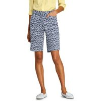 10″ Bermuda Chino Shorts - Patterned Blue