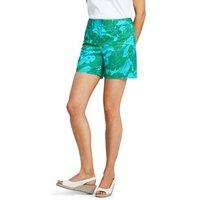 5″ Patterned Chino Shorts Blue