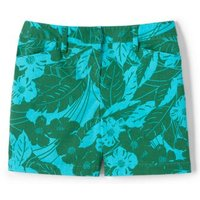 5″ Patterned Chino Shorts Blue