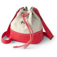 Drawstring Bucket Bag, Ivory