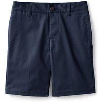 Adaptive Blend Chino Short, Kids, Size: 9-10 yrs Boy, Blue, Cotton-blend, by Lands' End
