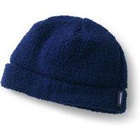Cosy Sherpa Fleece Beanie Hat, Blue