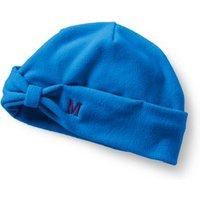 Fleece Bow Beanie Hat, Blue