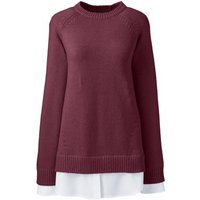 2-in-1 Tunic Jumper Red