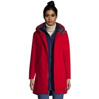 Squall 3-in-1 Waterproof Coat, Women, Size: 10-12 Petite, Red, Polyester, by Lands' End