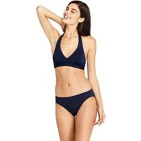 Beach Living Halter Neck Bikini Top Blue
