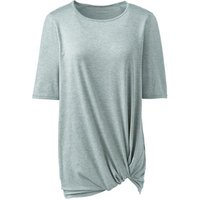 Active Wear Knot Front Tunic Green