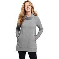 Active Wear Funnelneck Tunic Grey