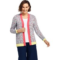 Bandana Supima Cotton Open Cardigan Yellow