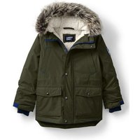 Expedition Parka, Kids, Size: 12-13 yrs Kid, Green, Down, by Lands' End.