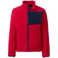 Ultra Light Packable Down Jacket, Men, Size: 38-40 Regular, Red, by Lands' End