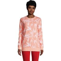 Serious Sweats Sweatshirt Tunic, Women, Size: 10-12 Regular, Orange, Cotton-blend, by Lands' End