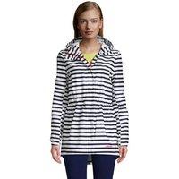 Packable Raincoat, Women, Size: 14-16 Petite, Blue, Polyester, by Lands' End