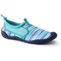 Aqua Socks, Women, Size: 4 Regular, Green, Polyester, by Lands' End