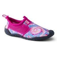 Aqua Socks, Women, Size: 5 Regular, Pink, Polyester, by Lands' End