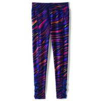 Active Leggings, Kids, Size: 12-13 yrs Girl, Poly-blend, by Lands' End.