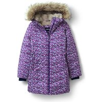 Winter Fleece Lined ThermoPlume Coat, Kids, Size: 12-13 yrs Girl, Pink, Polyester, by Lands' End.