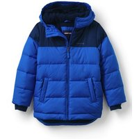 ThermoPlume Fleece Lined Parka, Kids, Size: 12-13 yrs Boy, Blue, Polyester, by Lands' End.