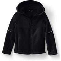 Bonded Fleece Jacket, Kids, Size: 5-6 yrs Little Kid, Black, Polyester, by Lands' End.