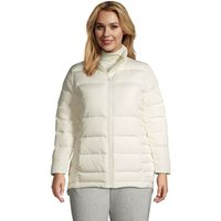 Down Jacket, Women, Size: 20-22 Plus, Ivory, by Lands' End