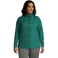 Primaloft Packable Jacket, Women, Size: 20-22 Plus, Green, Polyester, by Lands' End