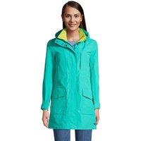 Squall Raincoat, Women, Size: 8 Regular, Blue, Nylon, by Lands' End