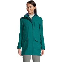 Squall Raincoat, Women, Size: 10-12 Regular, Green, Nylon, by Lands' End