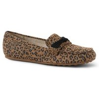 Comfort Loafers, Women, Size: 5.5 Regular, Leather, by Lands' End
