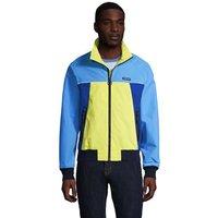 Squall Lightweight Jacket, Men, Size: 46-48 Regular, Blue, Nylon, by Lands' End