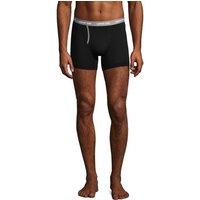 Jersey Trunks, Men, Size: S Regular, Black, Cotton-blend, by Lands' End.