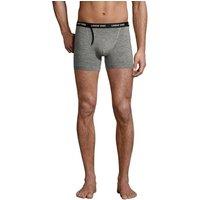 Jersey Trunks, Men, Size: S Regular, Grey, Cotton-blend, by Lands' End.