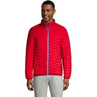 Packable ThermoPlume Jacket, Men, Size: 46-48 Regular, Red, Nylon, by Lands' End