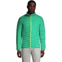 Packable ThermoPlume Jacket, Men, Size: 42-44 Regular, Green, Nylon, by Lands' End