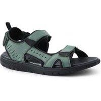 Water Sandals, Men, Size: 12 Regular, Green, Polyester, by Lands' End