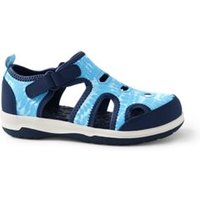 Closed Toe Water Sandals, Kids, Size: 12 Kid, Blue, Rubber, by Lands' End.