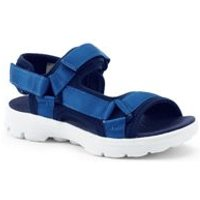 Sport Sandals, Kids, Size: 3 Kid, Blue, Rubber, by Lands' End